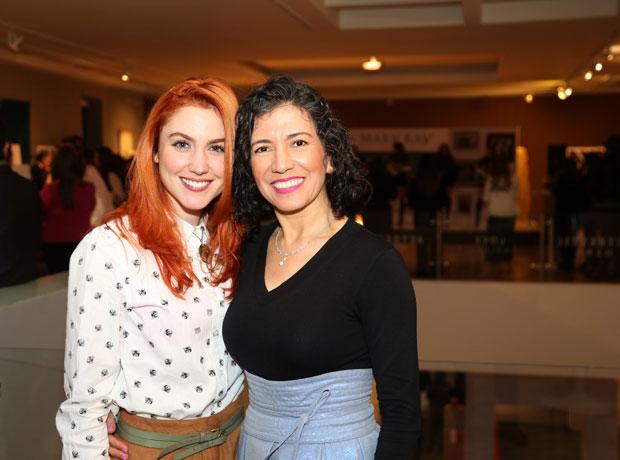 Carolina López y Deisy Marroquín.