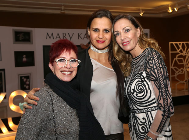 Yaneth Waldman, Antonia Canal y Catalina Escobar.