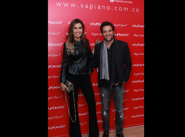 Adriana Betancur y Andrés Suárez.