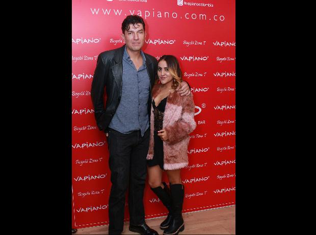 Gustavo Angarita y May McCausland.