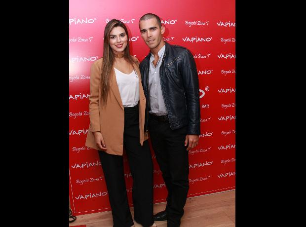 Lucía Aldana y Pedro Pallares.
