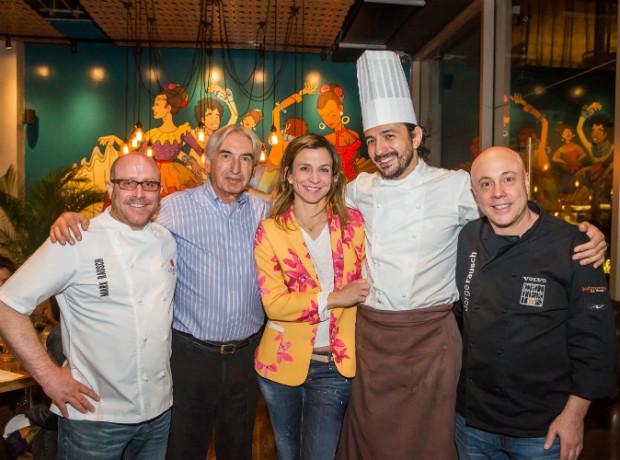 Mark Rausch, Carlos Leyva, Cristina Botero, Mario Valles y Jorge Rausch.