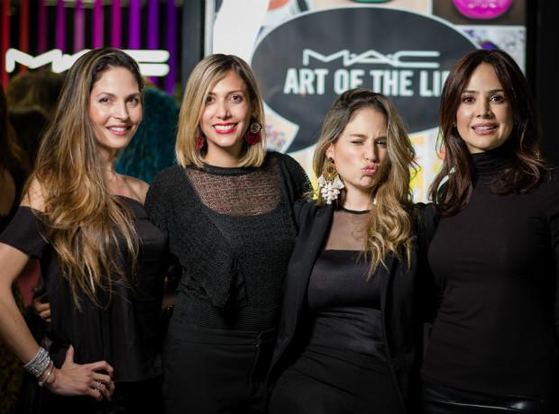 Paula Morales, Isa Salazar, Camila Wills y Mafe Navia.