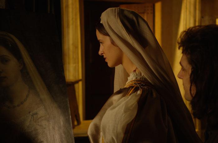 Los historiadores dicen que la mujer del cuadro de La velada es Margherita Luti, amante de Rafael. Sin embargo, se trata sólo de un rumor.