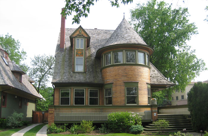 Casa Walter Gale, Chicago,, 1893.
