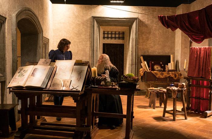 <div>Rafael Sanzio tenía una buena amistad con Leonardo da Vinci.</div>