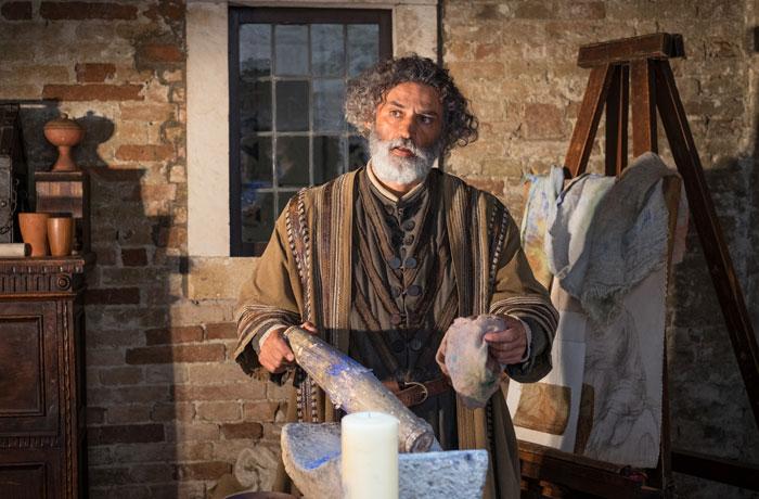 Giovanni Santi dejó a Rafael bajo el cuidado de su tío Bartolomeo, el sacerdote.
