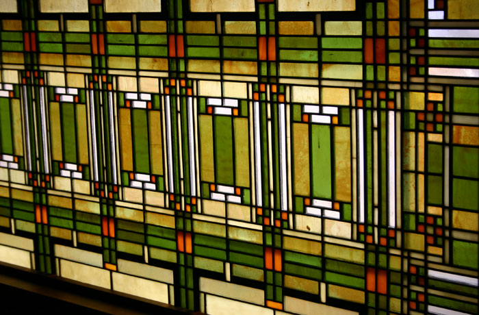 Stained Glass Skylight, Chicago, 1898.