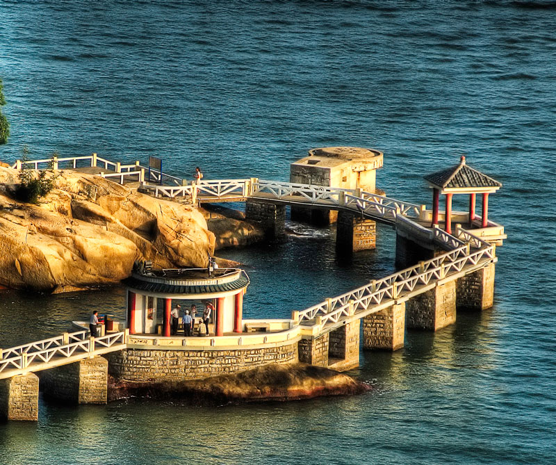 Isla Gulangyu, China.