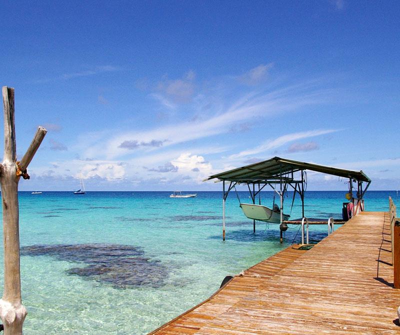 Isla Taputapuatea, Polinesia Francesa.