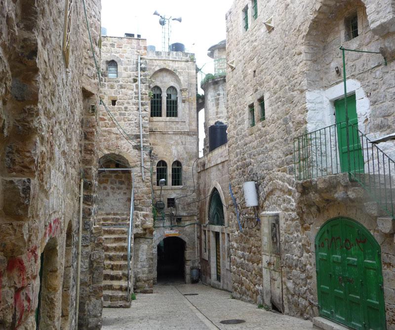 Ciudad Vieja de Hebrón, Palestina.