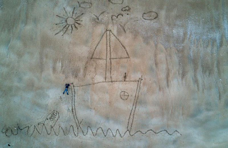 Segundo lugar en la categoría de Creatividad. Hugo el marinero por @rga.