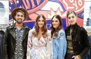 Josué Díaz, Amelia Ochoa, Elisa Ochoa y Helena Fadul.