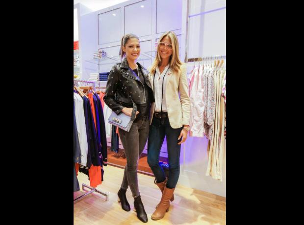 <div>Ana María Navarrete y Viviana Dávila.</div>
