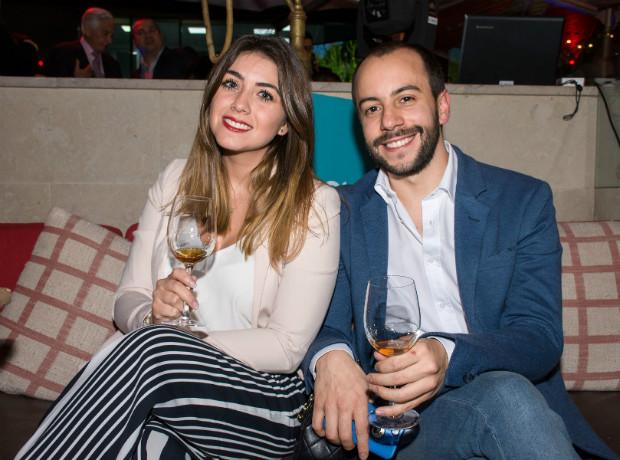 Laura Serrano y Nicolás Martínez.