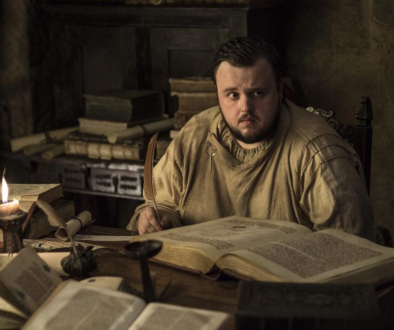¿Qué se viene para Sam Tarly ahora que está lejos de Jon Snow en la Ciudadela? El actor que lo interpreta nos contó.