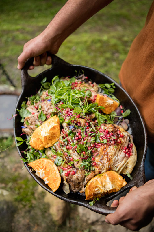 ideas para un asado, mezcla
