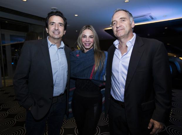 Antonio Sanint, Marcela Barajas y Carlos Lemos.