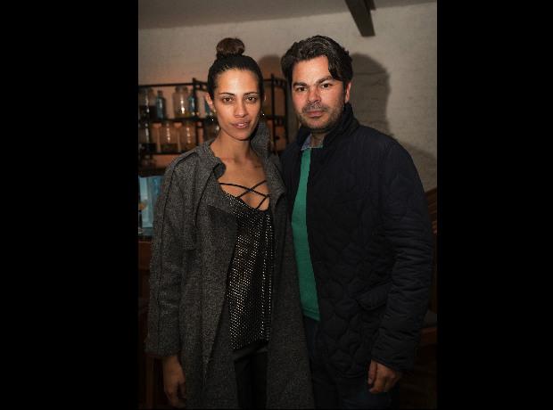 Camila Castellanos y Mauricio Sojo.