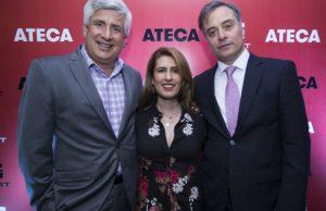 José Luis Méndez, Andrea Barrera y Alejandro Bernal.