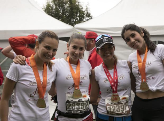 Juliana Galvis, Daniela Cardona, Laura Grisales y Valeria Vega.