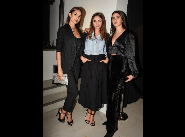 Lizeth Palomino, María Claudia Cueter y Sol Crusoe.