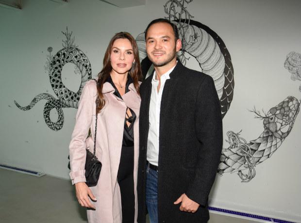 Paula Andrea Betancourt y Luis Miguel Zabaleta.