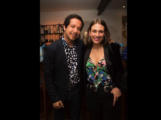 Ricardo Pava y María del Mar Vargas.