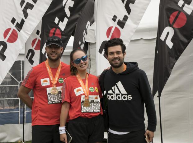 Santiago Pardo Ferrer, Milena López y Juan Diego Vanegas.