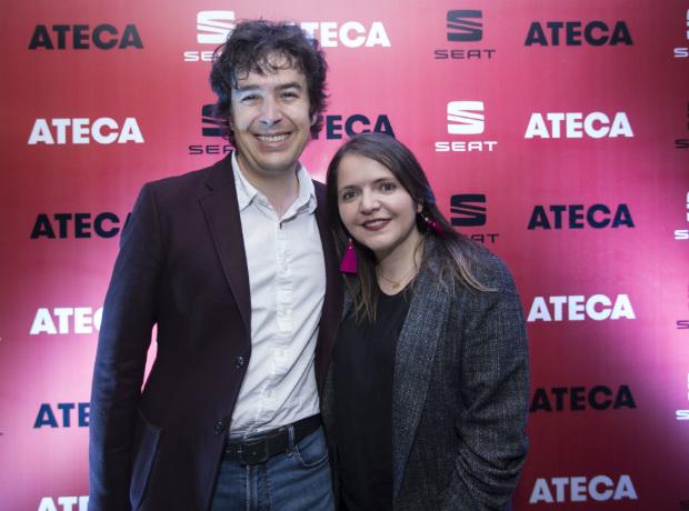 Sebastián Botero y María Linares.