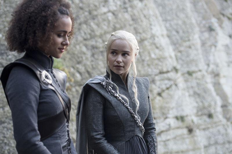 """""""¿Que tú y Greyworm hicieron qué?"""" pregunta Daenerys"""
