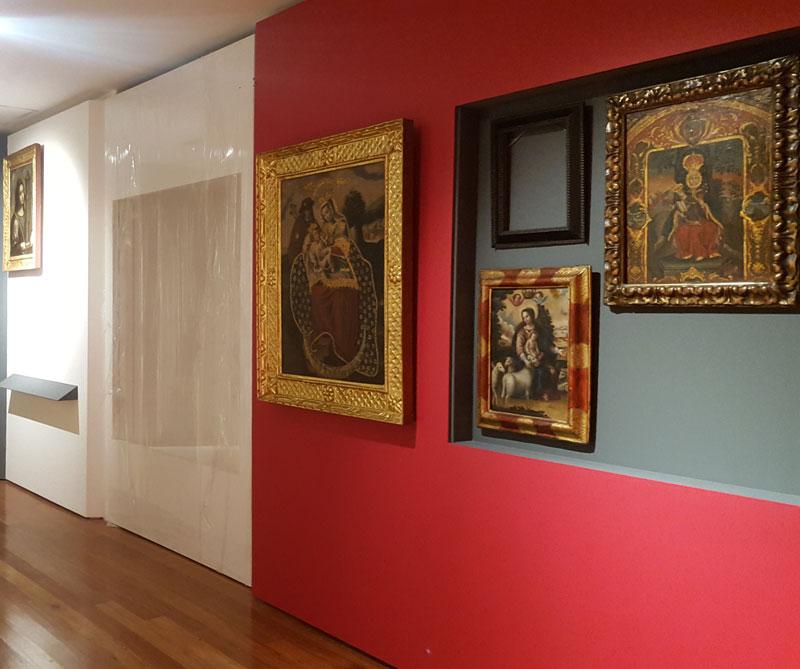 Las nuevas salas de exhibición.