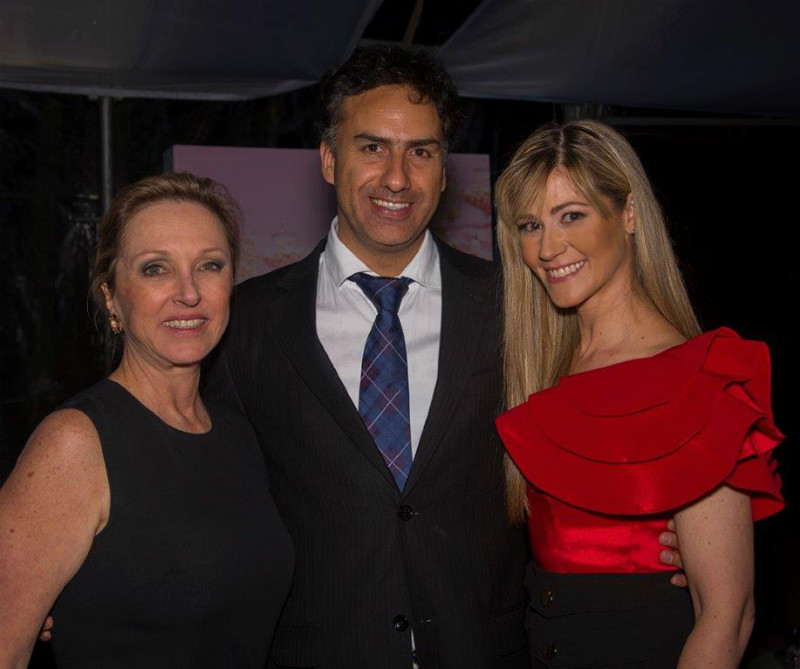 <div>Barbara Kern, Camilo Casas y Pilar Schmitt.</div>