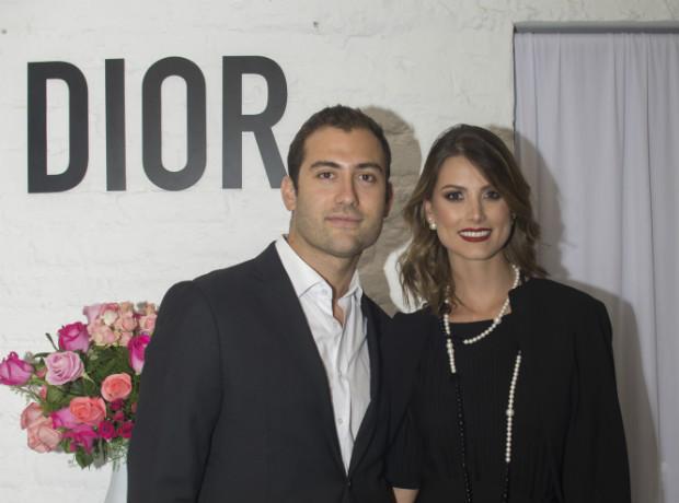 Bernardo Azuaje y Stefanía Fernández.
