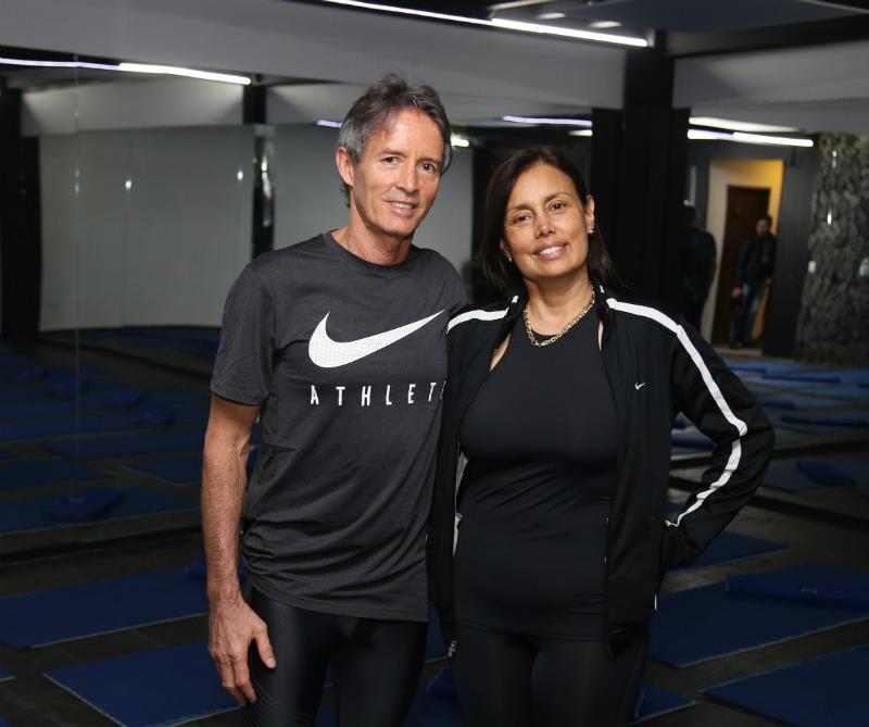 Bryan Dawson y María Isabel Ortega.
