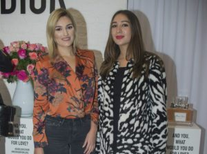 atalina Valencia y Camila Villamil.