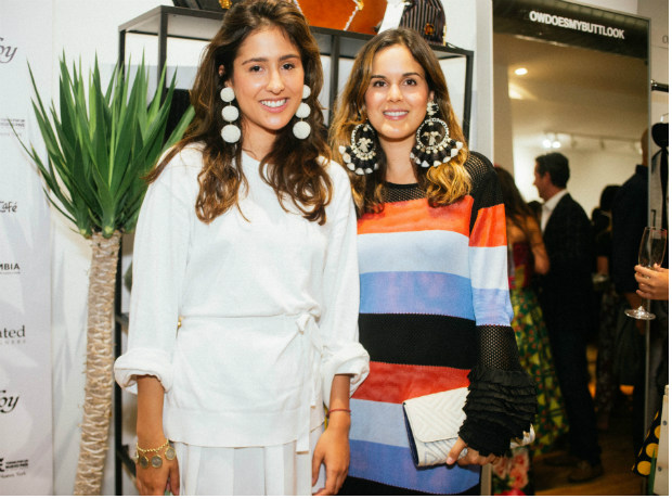 <div>Clo Clo Echavarria y Giovanna Campagna.</div>