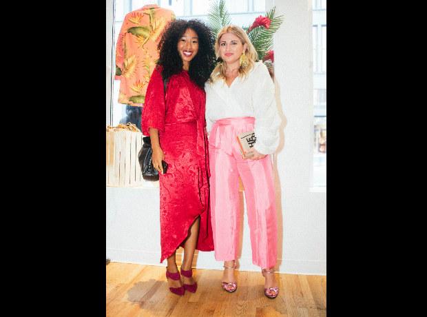 <div>Janice Cornwall y Victoria de la Fuente.</div>