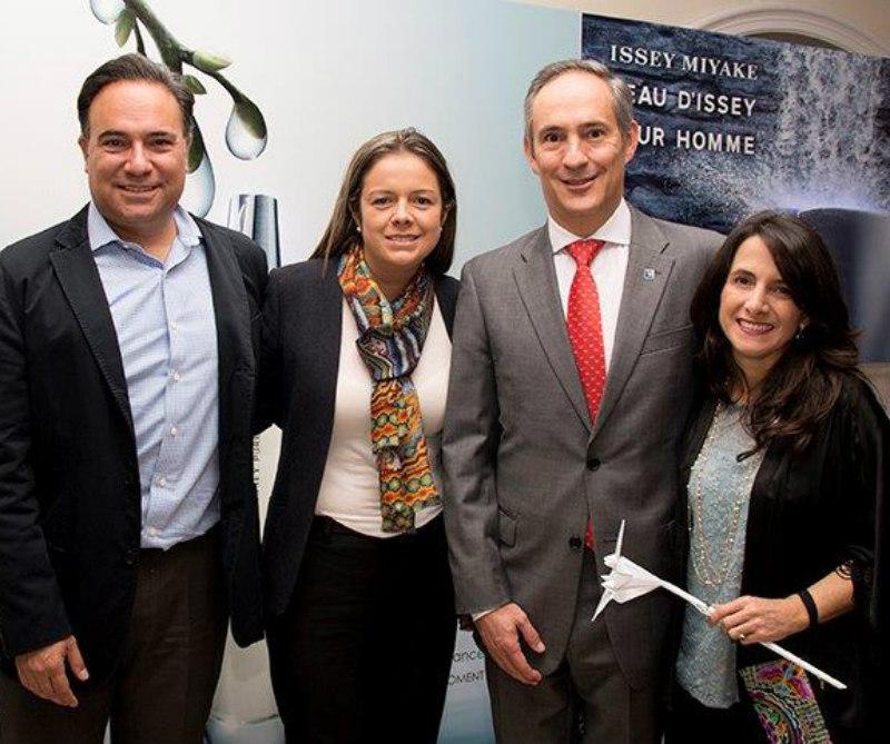 Luis Guillermo Plata, Liana La Torre, Henry Bradford y María Cristina Morales.