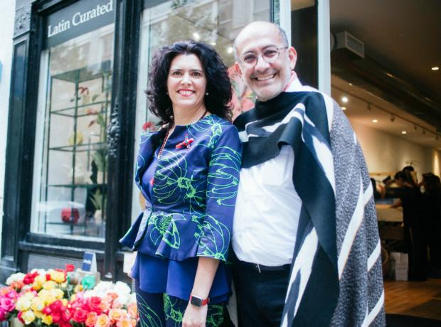 <div>María Luisa Ortíz y Diego Guarnizo.</div>