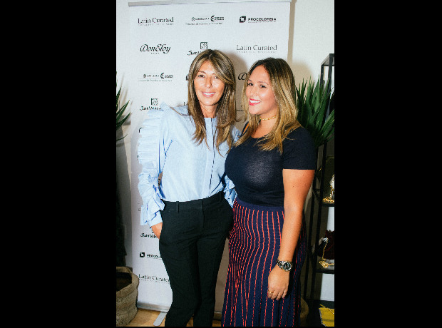 <div>Nina García y Stephanie Lacouture.</div>