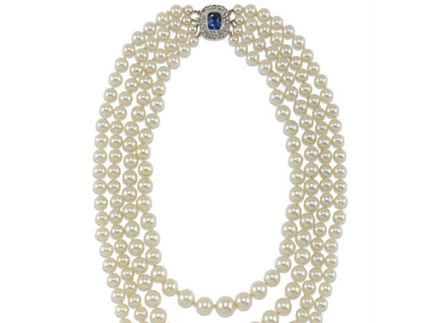 Collar de perlas, S.XX- http://www.christies.com/