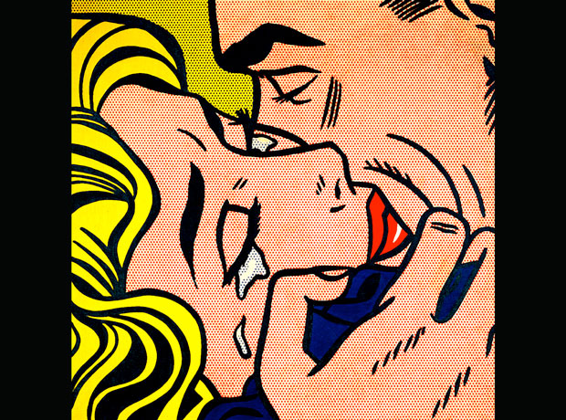 Drawing for kiss V, Roy Lichtenstein