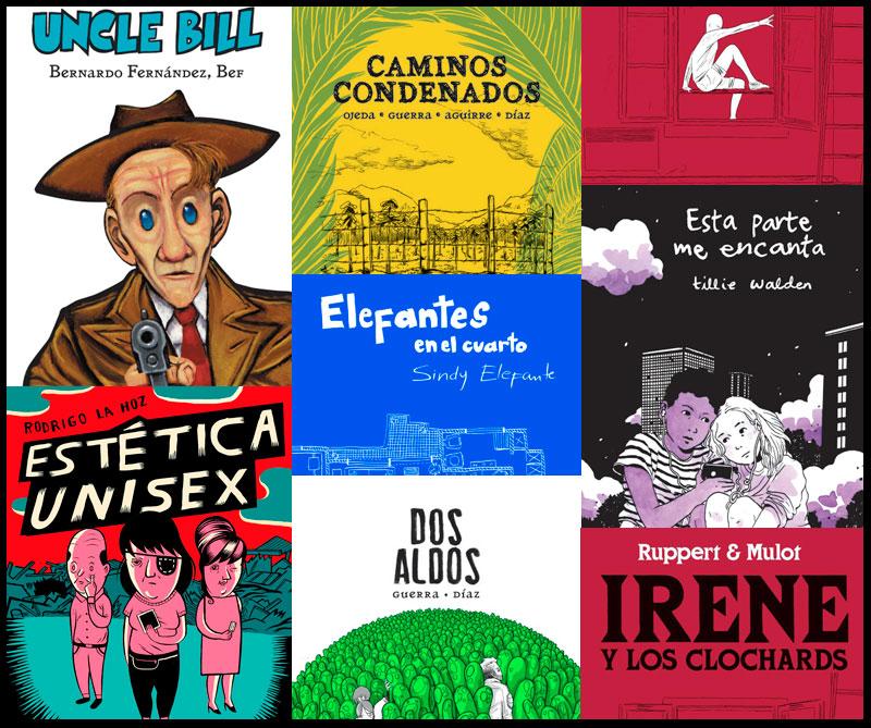 Cohete Cómics, la nueva editorial de las novelas gráficas en Colombia
