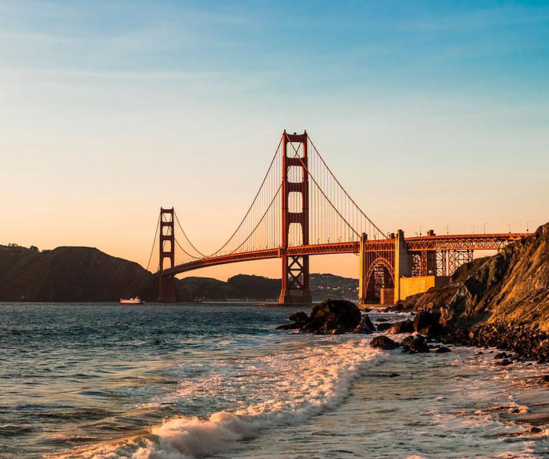 San Francisco, California: se puede visitar la zona tecnológica más grande del mundo conocida como Silicon Valley, el hogar de Apple, Google, Android, y Microsoft, entre otras, y donde se respeta a todas las personas sin importar sus ideologías, razas y credos. Pixabay / https://tinyurl.com/ya6osyek.