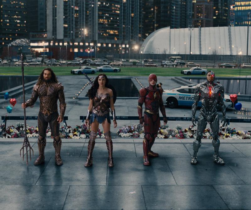 Anímese a descubrir si es Batman, Flash, Aquaman, Cyborg o la Mujer Maravilla.