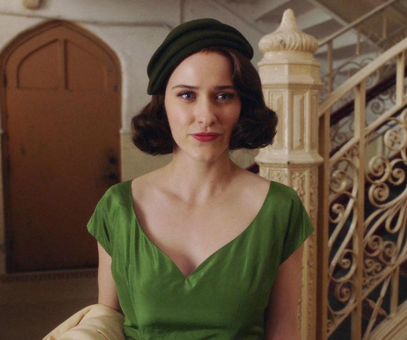Con solo dos semanas al aire, su protagonista Rachel Brosnahan está nominada como Mejor Actriz de Comedia al Globo de Oro.