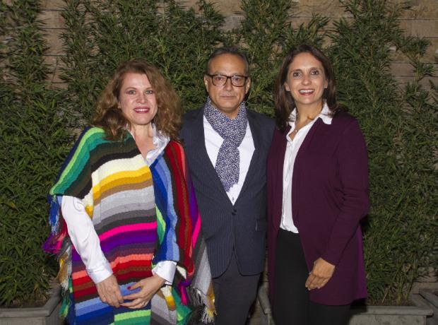 Zandra Quintero, Max Ojeda y Marcela Villamizar.