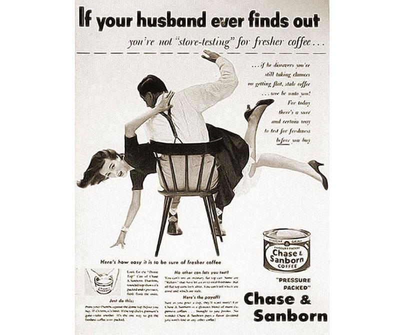 publicidad de los años 50