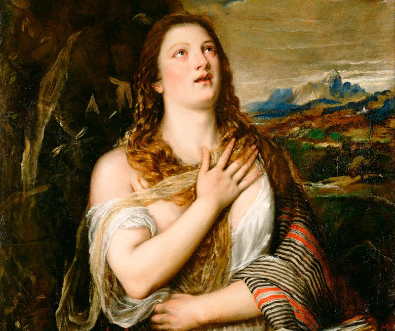 María Magdalena, Museum Getty Center, Los Ángeles, 1555 - 1565, CC BY 0.0